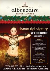 cartel danza del vientre 22 dic